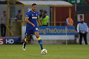 AFC Wimbledon defender Ryan Sweeney (20)  during the Pre-Season Friendly match between AFC Wimbledon and Crystal Palace at the Cherry Red Records Stadium, Kingston, England on 27 July 2016. Photo by Stuart Butcher.