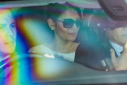 © Licensed to London News Pictures. 16/10/2019. London, UK. Home Secretary Priti Patel departs The Houses of Parliament.  Photo credit: George Cracknell Wright/LNP