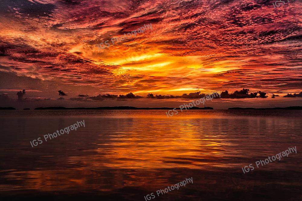 Sunset on Islamorada, Florida Keys