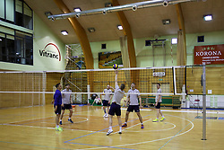 Players during training camp of Slovenian Volleyball Men Team before Qualification tournament for FIVB Volleyball World Championship, on May 11, 2017 in Arena Vitranc, Kranjska Gora, Slovenia. Photo by Matic Klansek Velej / Sportida