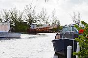 LCM-3 Landing Craft, left to rust in Bimini