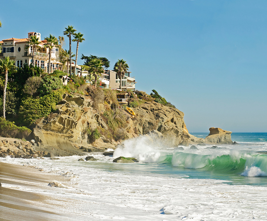 Laguna Beach, California, Aliso Beach, Skim Boarding,  Aliso Beach, Laguna Beach is known for having the best skimboarding beaches in the world. The beaches are long and the waves breach close to shore.