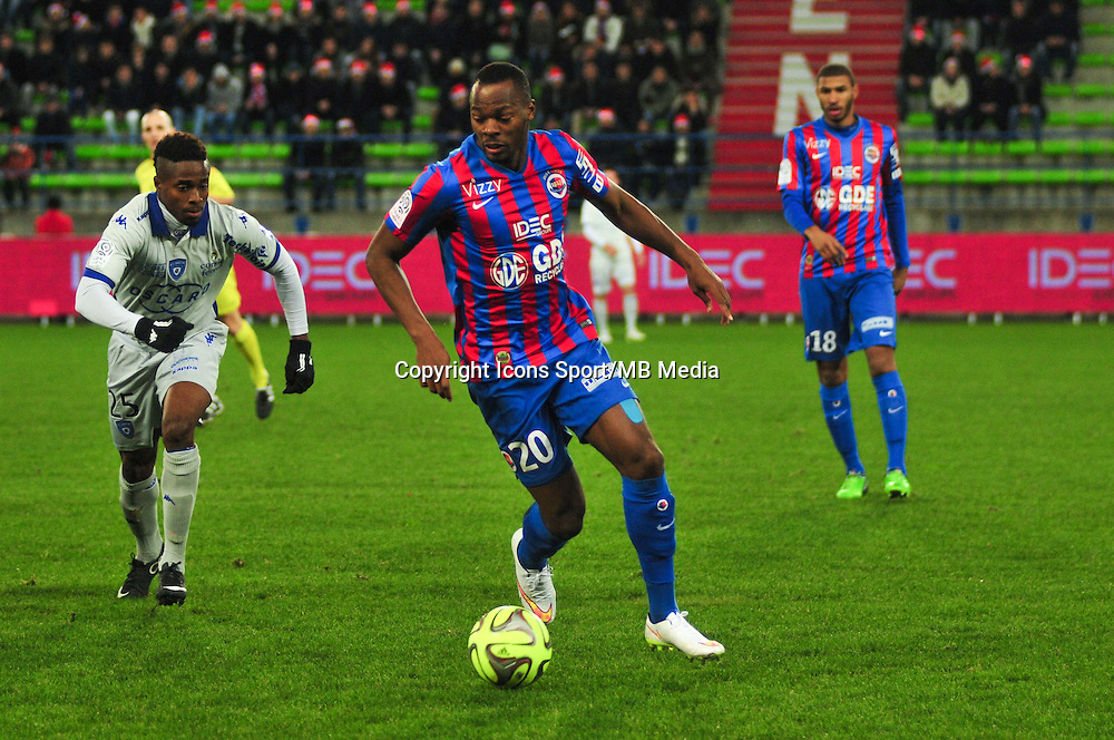 Herve Bazile - 20.12.2014 - Caen / Bastia - 17eme journee de Ligue 1 -<br />