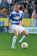 Paul Konchesky  during the Sky Bet Championship match between Hull City and Queens Park Rangers at the KC Stadium, Kingston upon Hull, England on 19 September 2015. Photo by Ian Lyall.