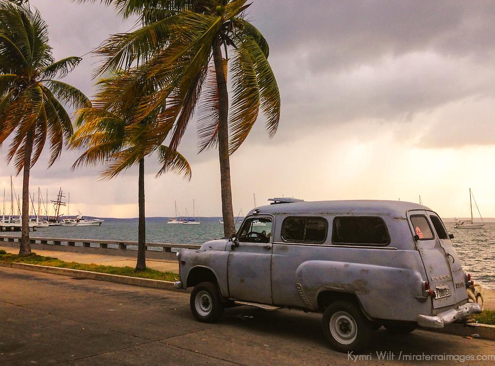 Central America, Cuba, Cienfuegos. Punta Gorda waterfront, Cienfuegos.