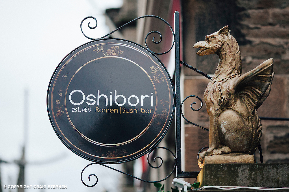 The List Magazine / Dundee City Council - Dundee Larder publication food / environmental photography.<br /> <br /> Oshibori Japanese restaurant, Nethergate, Dundee.