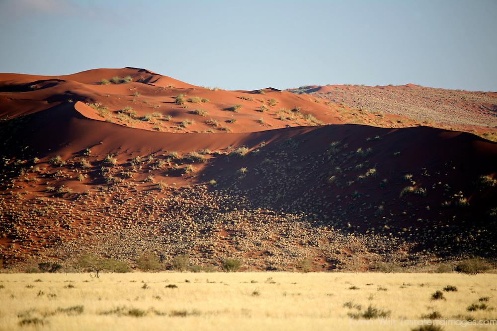 Africa, Namibia, Sossussvlei. Scenic dune landscape of the Namib.