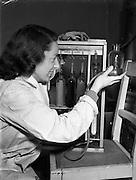 03/11/1952<br /> 11/03/1952<br /> 03 November 1952<br /> Bord na Mona experimental station, Newbridge, Co. Kildare. Miss Duggan, chemist.