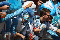Football - 2018 FIFA World Cup - Group D: Argentina vs. Iceland<br /> <br /> Argentina fans are seen at Spartak Stadium (Otkritie Arena), Moscow.<br /> <br /> COLORSPORT/IAN MACNICOL