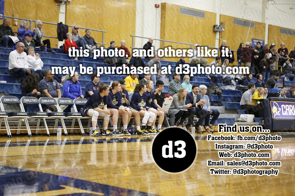 Women's Basketball: Carleton College Knights vs. Augsburg University Auggies