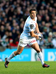 Dan Carter of Racing 92 passes the ball - Mandatory by-line: Robbie Stephenson/JMP - 23/10/2016 - RUGBY - Welford Road Stadium - Leicester, England - Leicester Tigers v Racing 92 - European Champions Cup