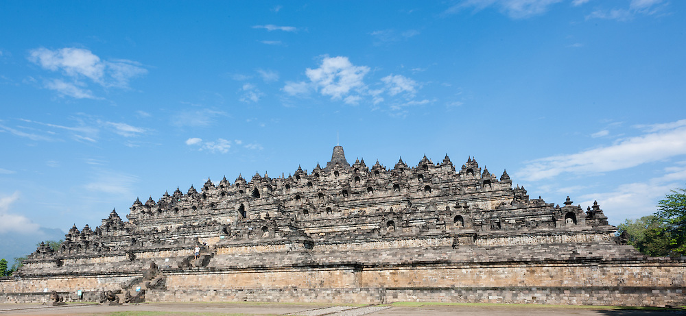 Borobudur Temple in Java (Indonesia)