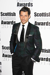 © Licensed to London News Pictures. 01/09/2014, UK. David Gandy, The Scottish Fashion Awards 2014, 8 Northumberland Avenue, London UK, 01 September 2014. Photo credit : Brett D. Cove/Piqtured/LNP