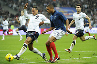 FOOTBALL - INTERNATIONAL FRIENDLY GAMES 2011/2012 - FRANCE v USA - 11/11/2011 - PHOTO JEAN MARIE HERVIO / DPPI - JERMAINE JONES (USA) / LOIC REMY (FRA)