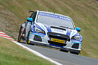#1 Ashley Sutton Adrian Flux BMR Subaru Racing Subaru Levorg GT during BTCC Practice  as part of the BTCC Championship at Oulton Park, Little Budworth, Cheshire, United Kingdom. June 09 2018. World Copyright Peter Taylor/PSP.