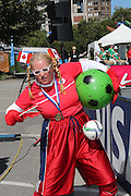 Entertainer - Women's World Cup Fans as the tournament comes to Vancouver<br /> <br />  - &copy; David Young - www.davidyoungphoto.co.uk - email: davidyoungphoto@gmail.com