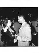 Gina Gershon, John Waters, New LIne Party, Casino, Cannes Film Festival 13th May1997© Copyright Photograph by Dafydd Jones 66 Stockwell Park Rd. London SW9 0DA Tel 020 7733 0108 www.dafjones.com