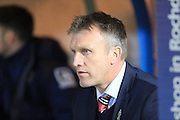 Steve Davies during the Sky Bet League 1 match between Rochdale and Crewe Alexandra at Spotland, Rochdale, England on 16 February 2016. Photo by Daniel Youngs.