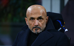 14.03.2019, Stadio Giuseppe Meazza, Mailand, ITA, UEFA EL, Inter Mailand vs Eintracht Frankfurt, Achtelfinale, Rückspiel, im Bild Mister Spalletti // Head Coach Spalletti during the UEFA Europa League round of 16, 2nd match between Inter Mailand and Eintracht Frankfurt at the Stadio Giuseppe Meazza in Mailand, Austria on 2019/03/14. EXPA Pictures © 2019, PhotoCredit: EXPA/ laPresse/ Spada<br /> <br /> *****ATTENTION - for AUT, SUI, CRO, SLO only*****