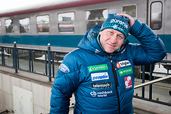 Goran Janus, head coach prior to the driving of Slovenian National Ski jumping Team from Ljubljana by train to the FIS World Cup Ski Jumping Final Planica 2018, on March 21, 2018 in Ljubljana, Slovenia. Photo by Urban Urbanc / Sportida