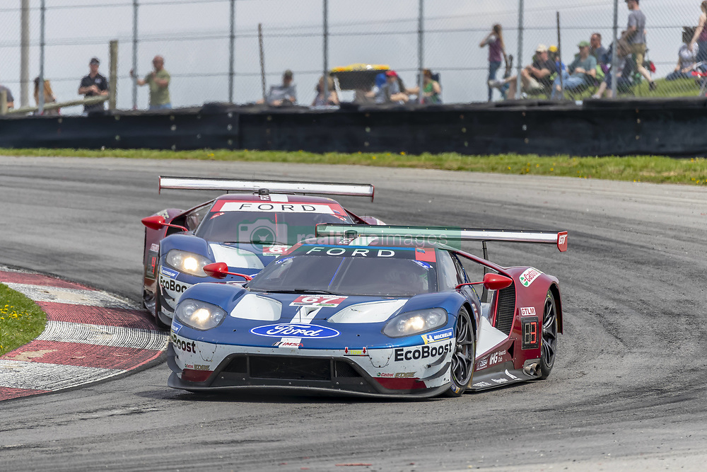 May 6, 2018 - Lexington, Ohio, United States of America - The Chip Ganassi Racing Ford GT car races through the keyhole turn during the the Acura Sports Car Challenge at Mid Ohio Sports Car Course in Lexington, Ohio. (Credit Image: © Walter G Arce Sr Asp Inc/ASP via ZUMA Wire)