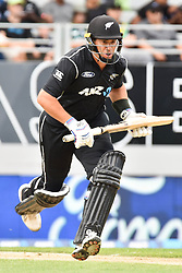 March 4, 2017 - Auckland, New Zealand - Ross Taylor of New Zealand bats during the final match of  One Day International series between New Zealand and South Africa at Eden Park on March 4, 2017 in Auckland, New Zealand (Credit Image: © Shirley Kwok/Pacific Press via ZUMA Wire)