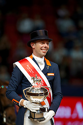 Minderhoud Hans Peter, (NED)<br /> Grand Prix Freestyle<br /> Reem Acra FEI World Cup Dressage - Goteborg 2016<br /> © Hippo Foto - Dirk Caremans<br /> 27/03/16