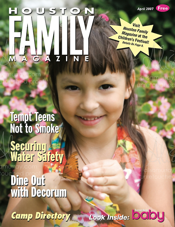 Houston Family April 2007 Cover