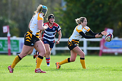 Tina Veale of Wasps Ladies in action - Mandatory by-line: Craig Thomas/JMP - 28/10/2017 - RUGBY - Cleve RFC - Bristol, England - Bristol Ladies v Wasps Ladies - Tyrrells Premier 15s
