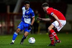 Zain Walker of Bristol Rovers - Mandatory by-line: Robbie Stephenson/JMP - 29/10/2019 - FOOTBALL - County Ground - Swindon, England - Swindon Town v Bristol Rovers - FA Youth Cup Round One