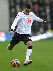 Jesse Kingard Derby County, Derby County v Reading, FA Cup 5th Round, The Ipro Stadium, Saturday 14th Febuary 2015
