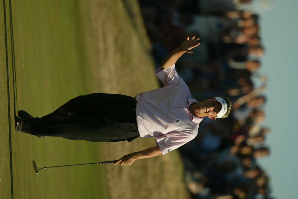 Luke Donald..2003 British Open..Second Round..Royal St. George's Golf Club..Sandwich, Kent, England..Friday, July 18  2003..photograph by Darren Carroll