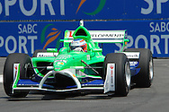 DURBAN, South Africa, Team Ireland's Adam Carroll  (13th 1:19:286) during the third practice session held as part of the A1GP race weekend in Durban, South Africa on Saturday 23 February 2008.  Photo: SportsPics/SPORTZPICS