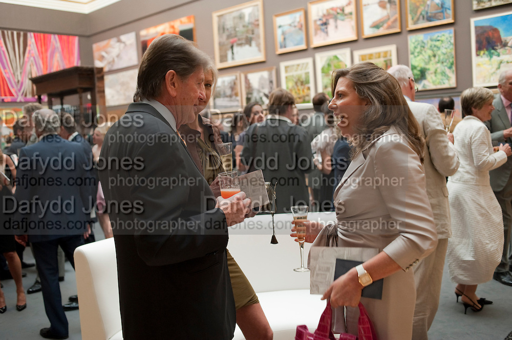 JOHN MADJESKI; KATINKA BARYSCH; HELEN MACINTYRE, Royal Academy of Arts Summer Exhibition Preview Party 2011. Royal Academy. Piccadilly. London. 2 June <br /> <br />  , -DO NOT ARCHIVE-© Copyright Photograph by Dafydd Jones. 248 Clapham Rd. London SW9 0PZ. Tel 0207 820 0771. www.dafjones.com.