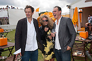 TOM DIXON; STEPHANIE THEOBALDS; JAKE ARNOTT, Veuve Clicquot Gold Cup. Cowdray Park on July 20, 2008 . Midhurst, England.