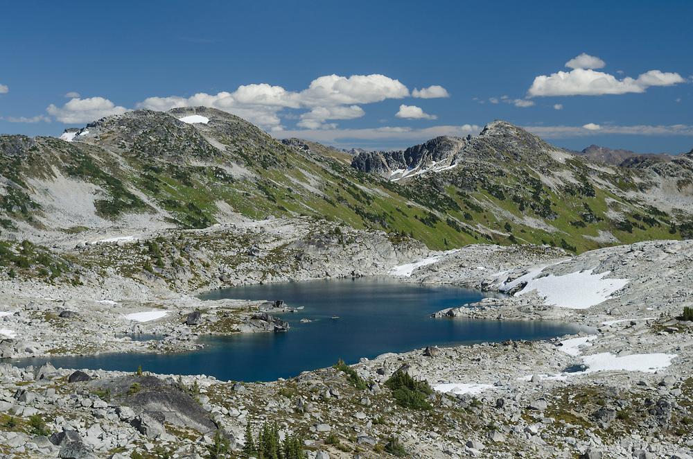 Upper Marriott Lake, Marriott Basin Coast Mountains British Columbia