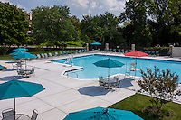 Exterior photo of the Swimming Pool at McDonogh Township by Jeffrey Sauers of Commercial Photographics
