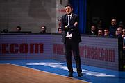 Nicola Brienza<br /> Pallacanestro Cantu' - Basket Leonessa Brescia<br /> Basket Serie A LBA 2018/2019<br /> Desio 07 April 2018<br /> Foto Mattia Ozbot / Ciamillo-Castoria