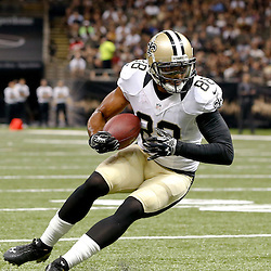 Aug 15, 2014; New Orleans, LA, USA; New Orleans Saints wide receiver Nick Toon (88) against the Tennessee Titans during a preseason game at Mercedes-Benz Superdome. Mandatory Credit: Derick E. Hingle-USA TODAY Sports