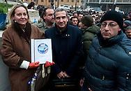 Roma, 11 Gennaio 2013.In fila per depositare i simboli dei partiti al ministero dell'Interno  in vista del voto..La prima lista è del Movimento Associativo Italiani all'Estero..
