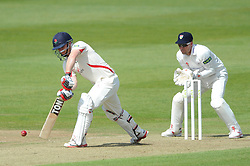 Steven Croft bats for Lancashire Cricket  - Photo mandatory by-line: Dougie Allward/JMP - Mobile: 07966 386802 - 07/06/2015 - SPORT - Football - Bristol - County Ground - Gloucestershire Cricket v Lancashire Cricket - LV= County Championship