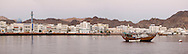 Panorama view of Muscat, Oman, Arabian Peninsula