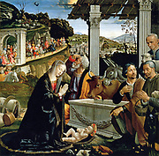 Domenico Ghirlandaio  Italian Early Renaissance Painter, 1449-1494 The Nativity c 1482
