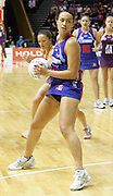 Jade Topia in action during round 4 of the ANZ Netball Championship - Queensland Firebirds v Northern Mystics. Played at Brisbane Convention Centre. Firebirds (46) defeated the Mystics (40).  Photo: Warren Keir (SMP/Photosport).<br /> <br /> Use information: This image is intended for Editorial use only (e.g. news or commentary, print or electronic). Any commercial or promotional use requires additional clearance.