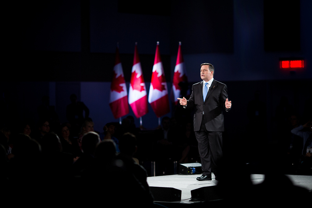 Jason Kenney, leader of the United Conservative Party of Alberta was the keynote speaker of the final plenary session of the Manning Networking Conference 2018.
