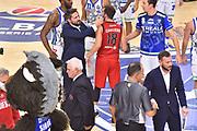 Pozzecco Gianmarco - Cavaliero Daniele<br /> Banco di Sardegna Dinamo Sassari - Pallacanestro Trieste<br /> LegaBasket Serie A LBA 2019/2020<br /> 13/10/2019<br /> Palaserradimigni, Sassari - Ore 12:00<br /> Foto Ciamillo-Castoria