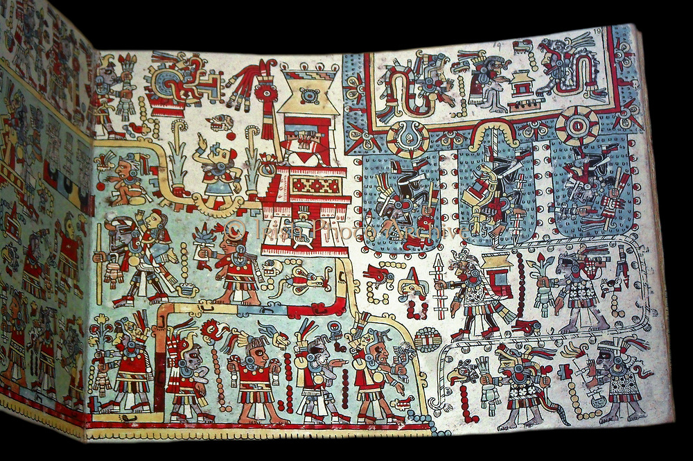 The Codex Zouche-Nuttall is an accordion-folded pre-Columbian piece of Mixtec writing, now in the British Museum (Add. Mss. 39671). It is one of three codices that record the genealogies, alliances and conquests of several 11th and 12th-century rulers of a small Mixtec city-state in highland Oaxaca, the Tilantongo kingdom, especially under the leadership of the warrior Lord Eight Deer Jaguar Claw (who died early twelfth century at the age of fifty-two). The Codex Zouche-Nuttall was made in the 14th century. The codex probably reached Spain in the 16th century. It was first identified at the Monastery of San Marco, Florence, in 1854 and was sold in 1859. A facsimile was published while it was in the collection of Robert Nathaniel Cecil George Curzon, Lord Zouche of Haryngworth by the Peabody Museum of Archaeology and Ethnology, Harvard in 1902, with an introduction by Zelia Nuttall (1857–1933). The British Museum acquired it in 1917.