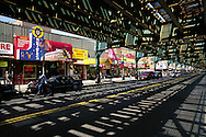 New York. Roosevelt Avenue of Jackson Heights in Queens, New York City