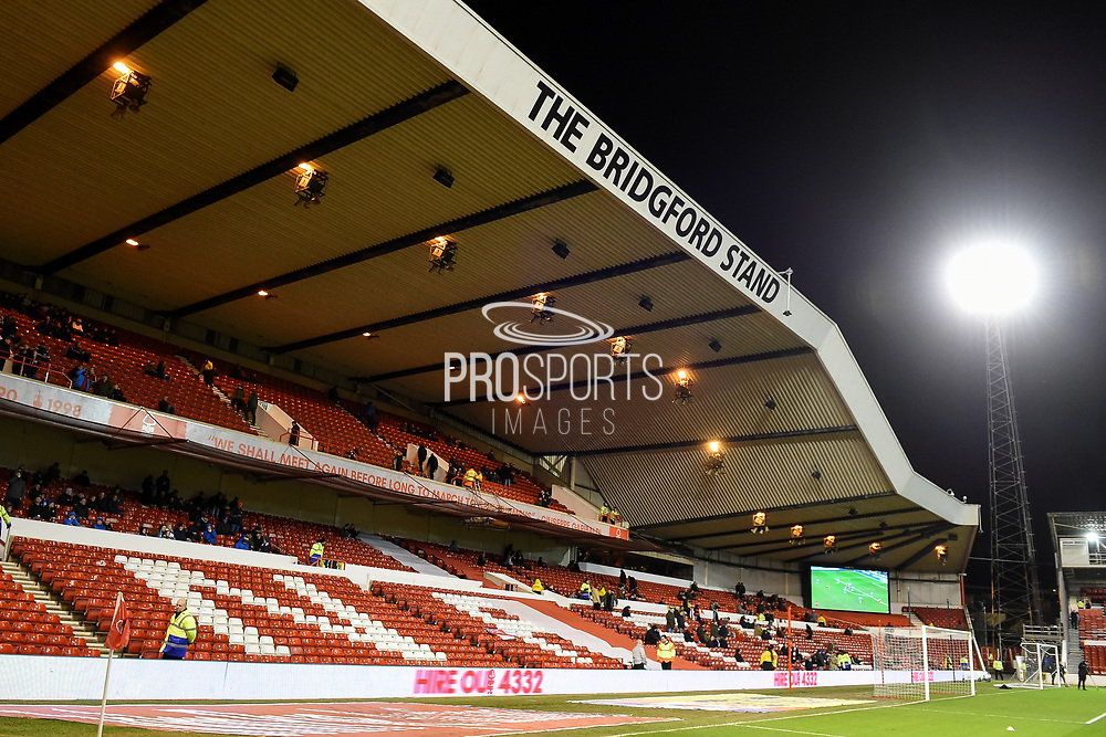 The Bridgford Stand during the EFL Sky Bet Championship match between Nottingham Forest and Reading at the City Ground, Nottingham, England on 20 February 2018. Picture by Jon Hobley.