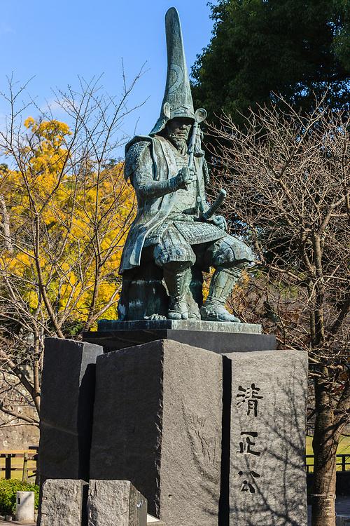Statue of Toyotomi Hideyoshi in Kumamoto